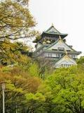 Osaka Castle. In autumn colors Stock Photo