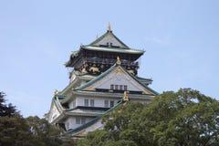 Osaka castle. Castle in osaka built by Toyotomi Hideyoshi Royalty Free Stock Images