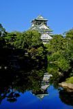 Osaka castle Stock Image