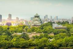 Osaka Castle chuoku, Osaka Japan, Fotografering för Bildbyråer