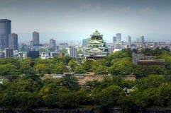 Osaka Castle chuoku, Osaka Japan, Royaltyfria Foton