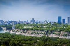 Osaka Castle, chuoku, Osaka Japan, Stock Photography