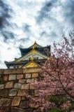 Osaka Castle Royalty Free Stock Photography