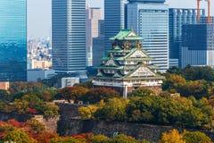 Osaka Castle em Osaka imagem de stock royalty free