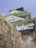 Osaka castle entrance Royalty Free Stock Images