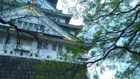Osaka Castle, Giappone, 大阪城 immagine stock