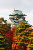"Osaka Castle ist eine japanische Schloss Herbstsaison in ChÅ ""Å- - ku, OS Stockfotografie"
