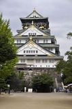 Osaka Castle in Japan. The Osaka Castle in Japan Stock Photo