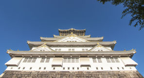 Osaka Castle, Japan. Royalty Free Stock Photo