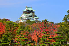 Osaka Castle Japan Stockfotos