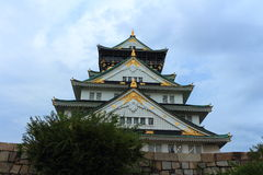 The Osaka Castle  Stock Photo