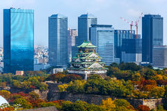 Osaka Castle. In Osaka, Japan Stock Photography
