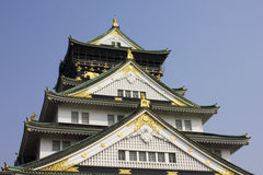Osaka Castle in Japan Stock Image
