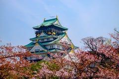 Osaka Castle, Japan. Cherry blossom in Osaka castle, Osaka, Japan Royalty Free Stock Photo