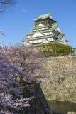 Osaka Castle in Japan Stock Photo