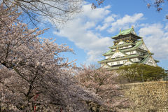 Osaka Castle in Japan Royalty Free Stock Photography