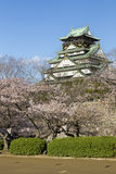 Osaka Castle in Japan Stock Image