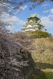 Osaka Castle in Japan Royalty Free Stock Photography