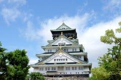Osaka Castle in Osaka, Japan Das Osaka-Schloss ist eins von Japan-` s die meisten berühmten Marksteine Stockfoto