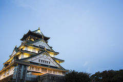 Osaka castle. Japan Royalty Free Stock Photos