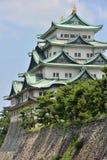Osaka castle Japan. Osaka castle from the distance royalty free stock photo