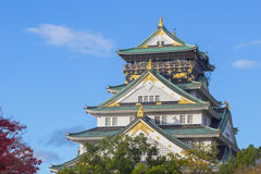 Osaka Castle, Japan Stock Image