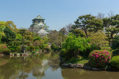 Osaka castle, Japan Stock Photos