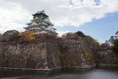 Osaka Castle, Japan history landmark stock images