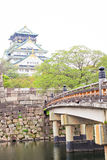 Osaka castle, Japan Royalty Free Stock Photos