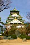 Osaka Castle, Japan. It is one of Japan's most famous castles Stock Images