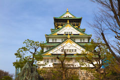 Osaka Castle, Japan. It is one of Japan's most famous castles Royalty Free Stock Images