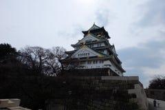 Osaka Castle, Japan, Osaka Stockfotos
