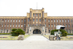 Osaka castle in japan Royalty Free Stock Photo