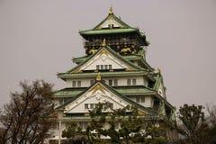 The Osaka castle, a Japanese ancient castle as symbol or landmark in Osaka, Kansai, Japan stock photography