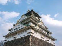 Osaka Castle. Royalty Free Stock Image