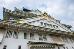 Osaka Castle. Osaka-jo Osaka Castle is one of Japan`s most famous castle which is an important mark in unification of Japan in 16th century Royalty Free Stock Image
