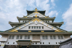 Osaka Castle. Osaka-jo Osaka Castle is one of Japan`s most famous castle which is an important mark in unification of Japan in 16th century Royalty Free Stock Photography
