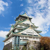 Osaka Castle in Kansai, Japan Stockbilder