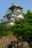 Osaka castle keep Stock Photo