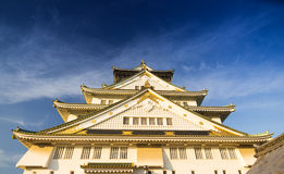 Osaka castle  in Kyoto, Japan Royalty Free Stock Photography