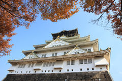 Osaka Castle is landmark city, Japan. Royalty Free Stock Photo