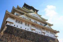 Osaka Castle is landmark city, Japan. Royalty Free Stock Image
