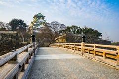 Osaka Castle landmark of Osaka in Japan Royalty Free Stock Images