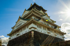 Osaka Castle royalty free stock images