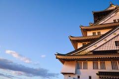 Osaka Castle na cidade de Osaka, Kansai, Japão Fotos de Stock