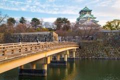 Osaka Castle a Osaka Fotografie Stock