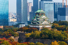 Osaka Castle in Osaka Royalty Free Stock Image