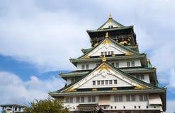 Osaka Castle in Osaka Japan Fotografia Stock Libera da Diritti