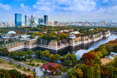 Osaka Castle in Osaka. Japan Stock Image