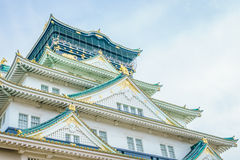 Osaka castle in Osaka Japan. Osaka castle in Osaka Japan Royalty Free Stock Photo